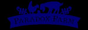 Paradox Farm Creamery Blue Logo