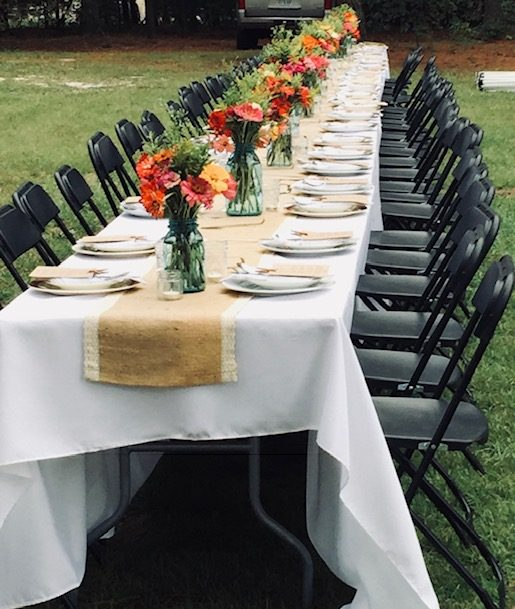 Paradox Farm Table Seating